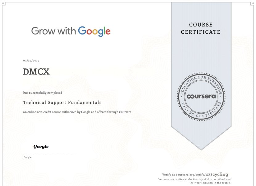 Google IT Certification