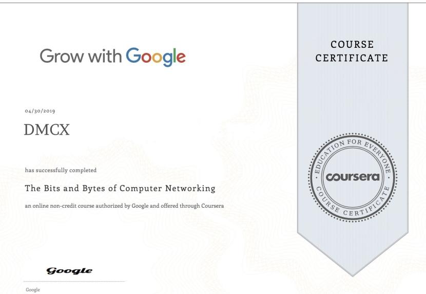 Google IT Certification PartII