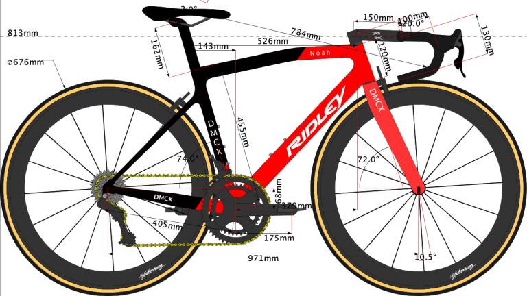 Team Lotto Soudal Tour de France 2019 bike size