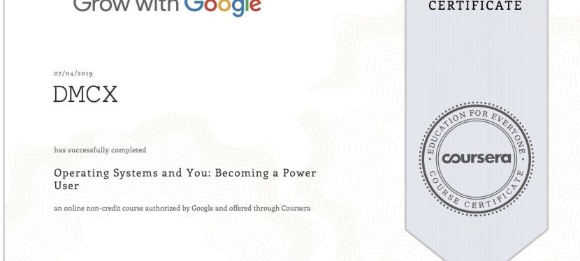Google IT Certification PartIII